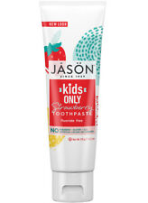 Jason KIDS ONLY Strawberry Sugar-Free Non Fluoride Childs TOOTHPASTE 119g