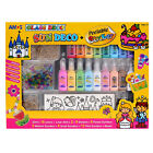 Amos Glass Sun Deco Multipack Painting Peelable Sticker Set 18 Colors Creativity