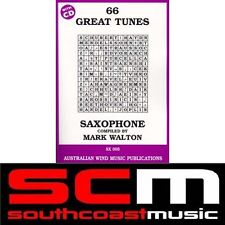 ALTO SAXOPHONE  66 GREAT TUNES SONG BOOK + CD MARK WALTON BRAND NEW ALTO SAX