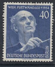 MUSIC :GERMANY (BERLIN) 1955 Furtwangler 40pf blueSGB125 used