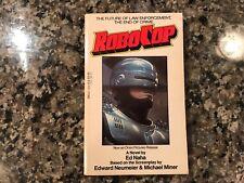 Robo Cop Movie Tie-In Paperback Book! 1987.