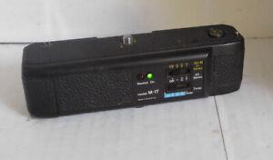 Electronic Power Winder M-1T ~ Minolta XG, XG-M & X Series Cameras. TESTED