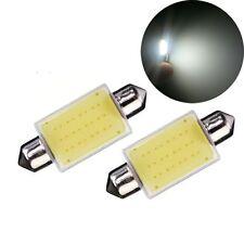 2Pcs De Luz Lámpara De Lectura Del Coche COB 12SMD 6000K Bombillas Led