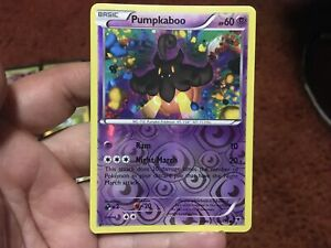 Pumpkaboo - 44/119 Common XY Phantom Forces Pokemon Card Night March