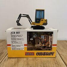 Boxed JOAL & NZG Compact JCB Diecast Model