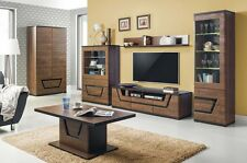 TV Unit Contemporary unique design in wenge 118cm - Matching products!!