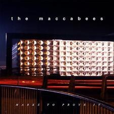 THE MACCABEES MARKS TO PROVE IT Limited Dark Blue Vinyl LP