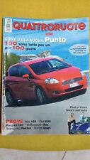 QUATTRORUOTE Settembre 2005 Alfa Romeo 159 2.2 JTS Distinctive  VW Fox 1.4 Sport