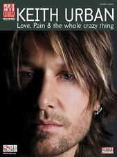 Love, Pain & the Whole Crazy Thing (Piano/Vocal/Guitar)