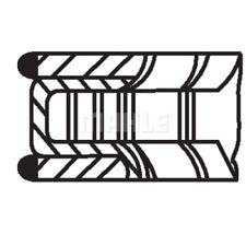 Kolbenringsatz NEU MAHLE ORIGINAL (011 RS 00101 0N0)