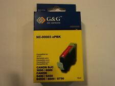 G&G Ink Cartridge Black Canon BJC-3000/6000 S400/S450/S4500/S600/S750