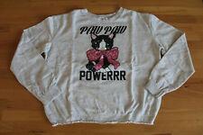H&M ღღ Sweatshirt/ Shirt langarm / Pullover Gr. 146/152 ღღ creme - Hund ღღ wNEU