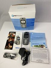 AT&T 3560 Nokia Wireless Phone Silver