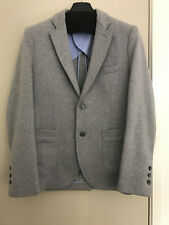 Brooks Brothers Jersey Knit Blazer in Light Grey - Size S