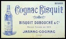 Buvard Publicitaire, COGNAC BISQUIT - Jarnac-Cognac - Bisquit Dubouché et Cie