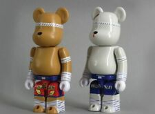 Medicom Be@rbrick - Muay Thai 400% Bearbrick Set (Thailand Exclusive) NEW RARE