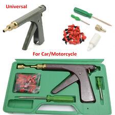 Car Motor Tire Plugger Tubeless Tyre Wheel Repair Gun Kit w/Plug Rubber Plugging