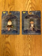Rudolph And The Island Of Misfit Toys 2002 Clip Ons Skinny Santa & Mrs Claus New