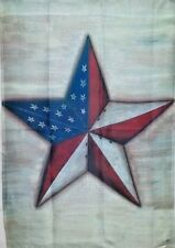 """American Star Standard House Flag by Toland #8061  28"""" x 40"""" Rustic"""