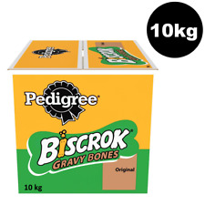 10kg Pedigree Biscrok Gravy Bones Original Dog Biscuits 10kg Bulk Dog Treats