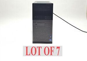 Dell Optiplex 7010 MT Core i7-3770 3.4GHz 12GB/16GB Mini Tower No HDD/Fan Lot 7