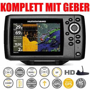 Humminbird Echolot GPS Seekartenplotter - Helix 5 Chirp GPS DI G2 Down Imaging
