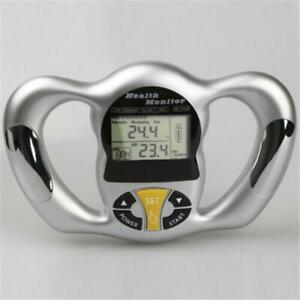 LCD Digital Screen Handheld BMI Tester Body Fat Meter Health Care Analyzer UK