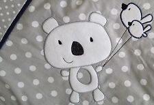 LUXURY EMBROIDERED BABY BEDDING SET PILLOW AND QUILT DUVET UNISEX BOY OR GIRL!!!
