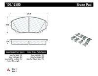 Disc Brake Pad Set Front Centric 106.12580