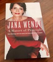 NEW Softcover Book - A Matter Of Principle By Yana Wendt