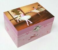 BALLERINA BALLET DANCER MUSICAL TRINKET ,JEWELLERY,KEEPSAKE GIFT BOX BNIB