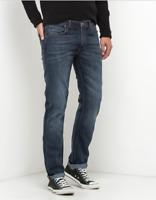 Mens Lee Daren regular slim fit jeans 'Dark Side Blue'  FACTORY SECONDS L178