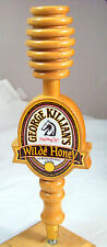 GEORGE KILLIAN'S Wilde Honey Tap Handle Marker Honeycomb Ale Brewed    Lot #4-11