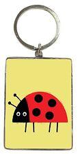 Ladybird Metallic Keyring - Gift Idea