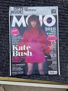 KATE BUSH- MOJO MAGAZINE- JANUARY 2019- NEW/SEALED- ELVIS DVD/ 15 TRACK CD