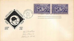 """855 3c Baseball Centennial unlisted, P.L Stratton """"of the period""""  [218294]"""
