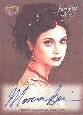 Firefly The Verse OA-IS Morena Baccarin Inara Original Art Autograph Card MINT!
