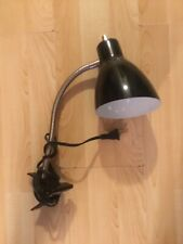 Black Clip On Desk Lamp