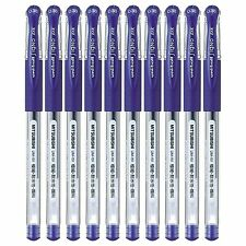 MITSUBISHI Uni-ball Signo DX UM-151 0.38 GEL PEN waterproof Blue 10pcs