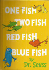 One fish,Two fish, Red fish, Blue Fish ! (Dr Seuss Mini Edition) - Hardcover