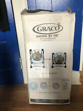 Graco Swing By Me Portable 2-in-1 Swing Lionel Toddler Nursery Baby Fold-able