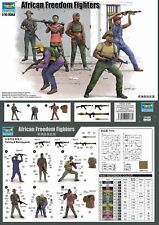 Trumpeter 00438 - 1:35 African Freedom Fighters - Neu
