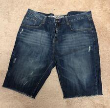 ECKO UNLTD 1972 Straight Fit Blue Denim  Men's 40 X 12 Shorts