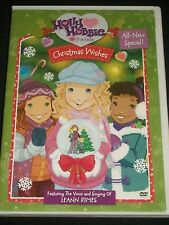 DVD Holly Hobbie & Friends Christmas Wishes Leann Rimes Special