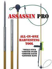 Tickle Stick,Lobster Snare & Gauge & Lionfish Pole Spear Assasin Harvesting Tool