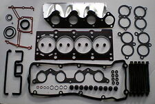 HEAD GASKET SET & BOLTS BMW 316i 318i 518i 8V M43 E34 E36 1991-99 1.6 1.8 VRS