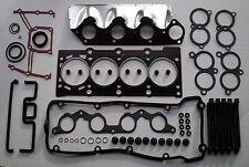 HEAD GASKET SET & BOLTS BMW 316i 318i 518i 8V M43 E34 E36 1991-99 1.6 1.8 VRS