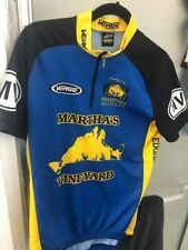 VERGE CYCLING JERSEY XL BLUE/GOLD
