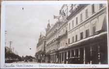 Havana/Habana, Cuba 1915 Realphoto Postcard: Centro Gallego, Hotel Inglaterra