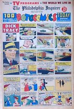 Dick Tracy by Chester Gould - full page color Sunday comic - August 23, 1959